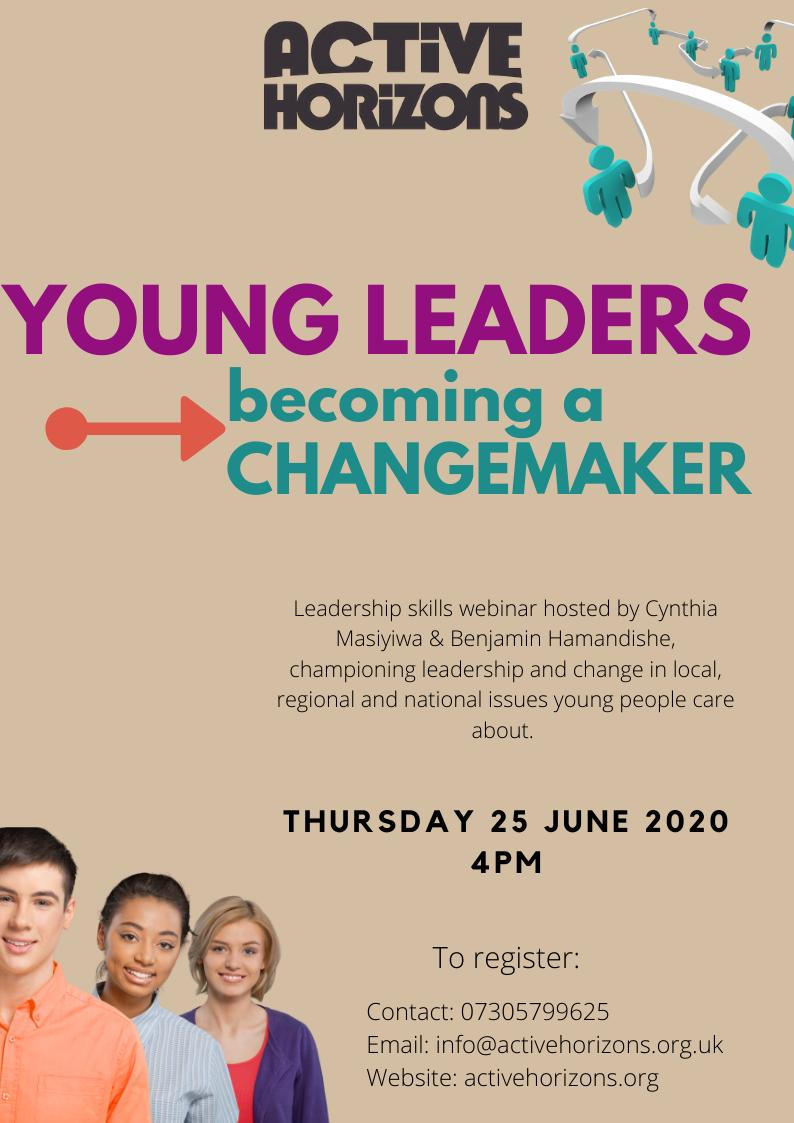 Young Leadership- Becoming change maker Webinar