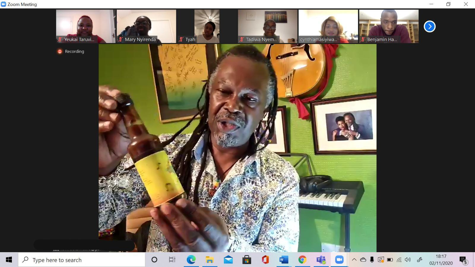 Levi Roots supports and inspires business owners of the future with Active Horizons