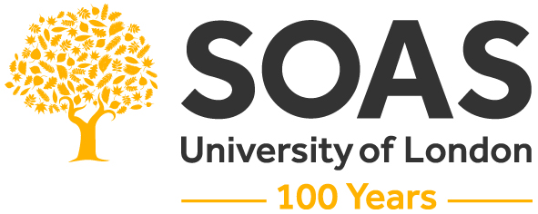 Logo SOAS_Gold_Grey_CMYK_C_100Years
