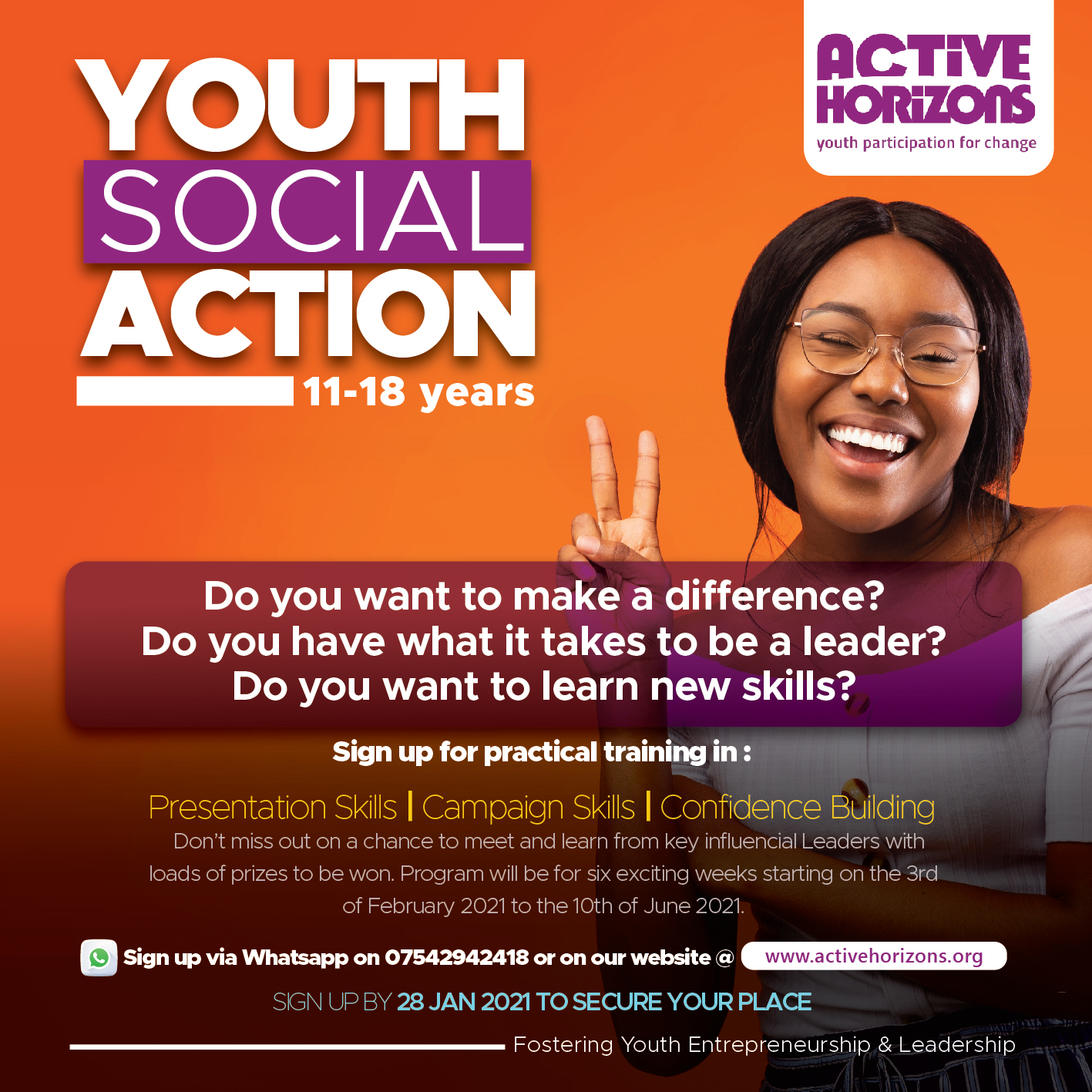Youth Social Action Program
