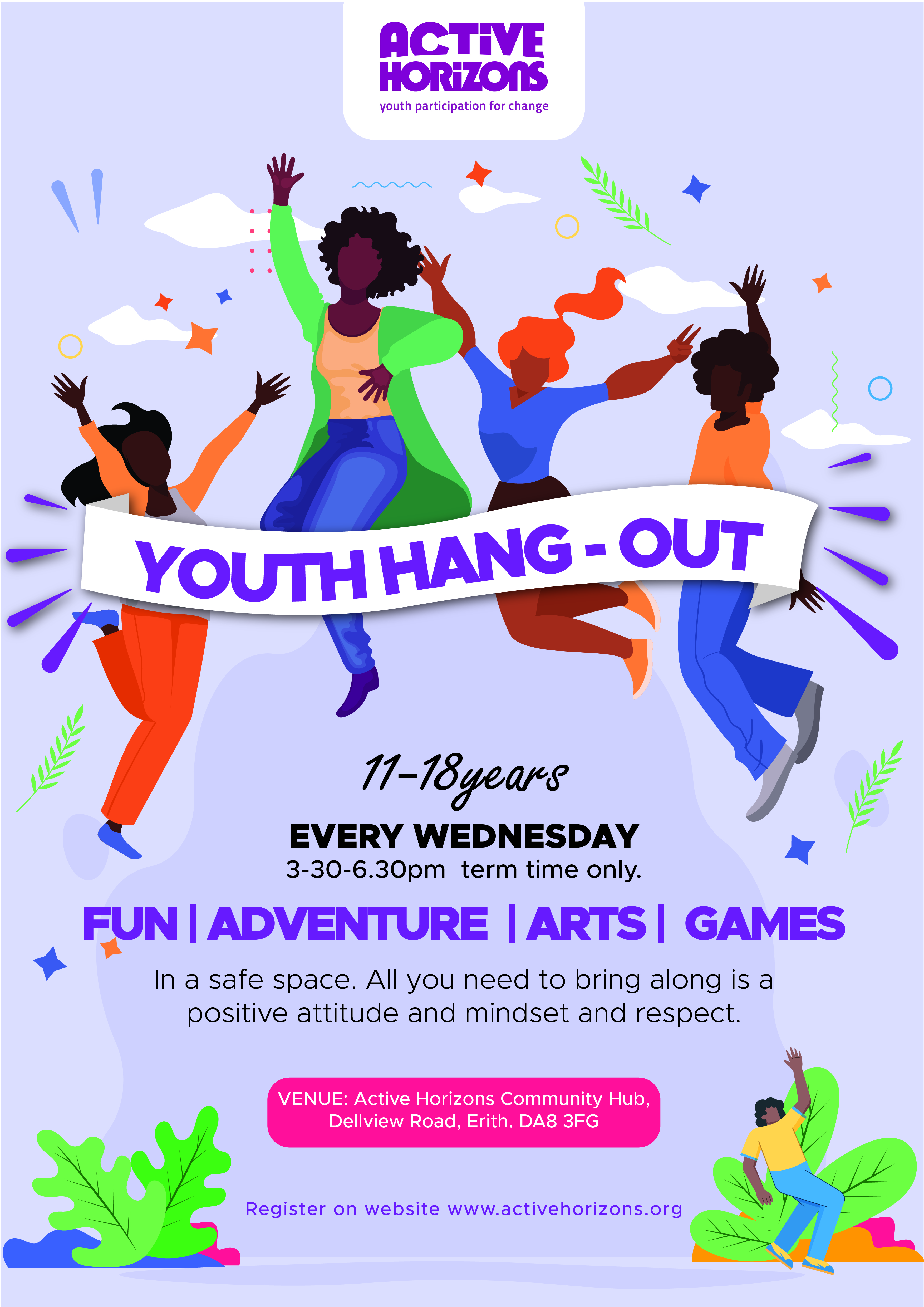 Youth Hangout Wednesday