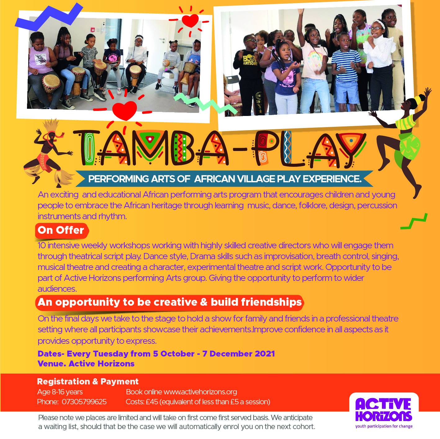 Tamba Play- PERFORMING ARTS OF AFRICAN VILLAGE PLAY EXPERIENCE